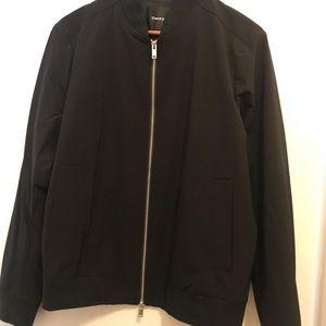 Men's Theory nylon bomber jacket